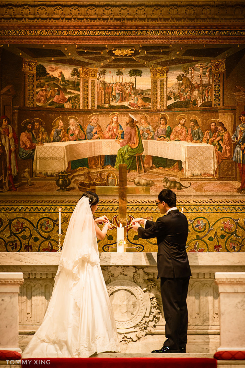 STANFORD MEMORIAL CHURCH WEDDING SAN FRANCISCO BAY AREA 斯坦福教堂婚礼 洛杉矶婚礼婚纱摄影师  Tommy Xing 46.jpg