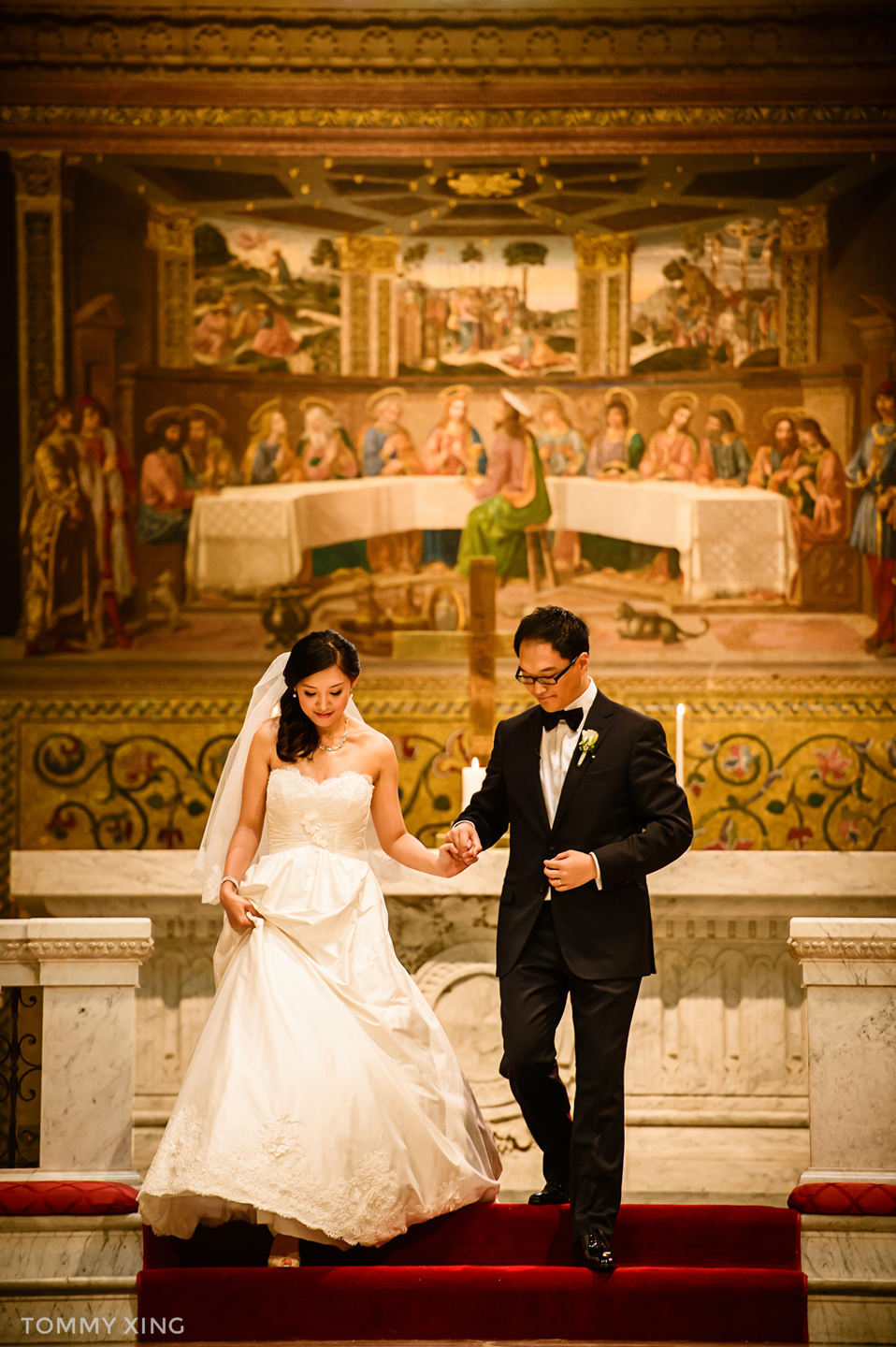 STANFORD MEMORIAL CHURCH WEDDING SAN FRANCISCO BAY AREA 斯坦福教堂婚礼 洛杉矶婚礼婚纱摄影师  Tommy Xing 47.jpg