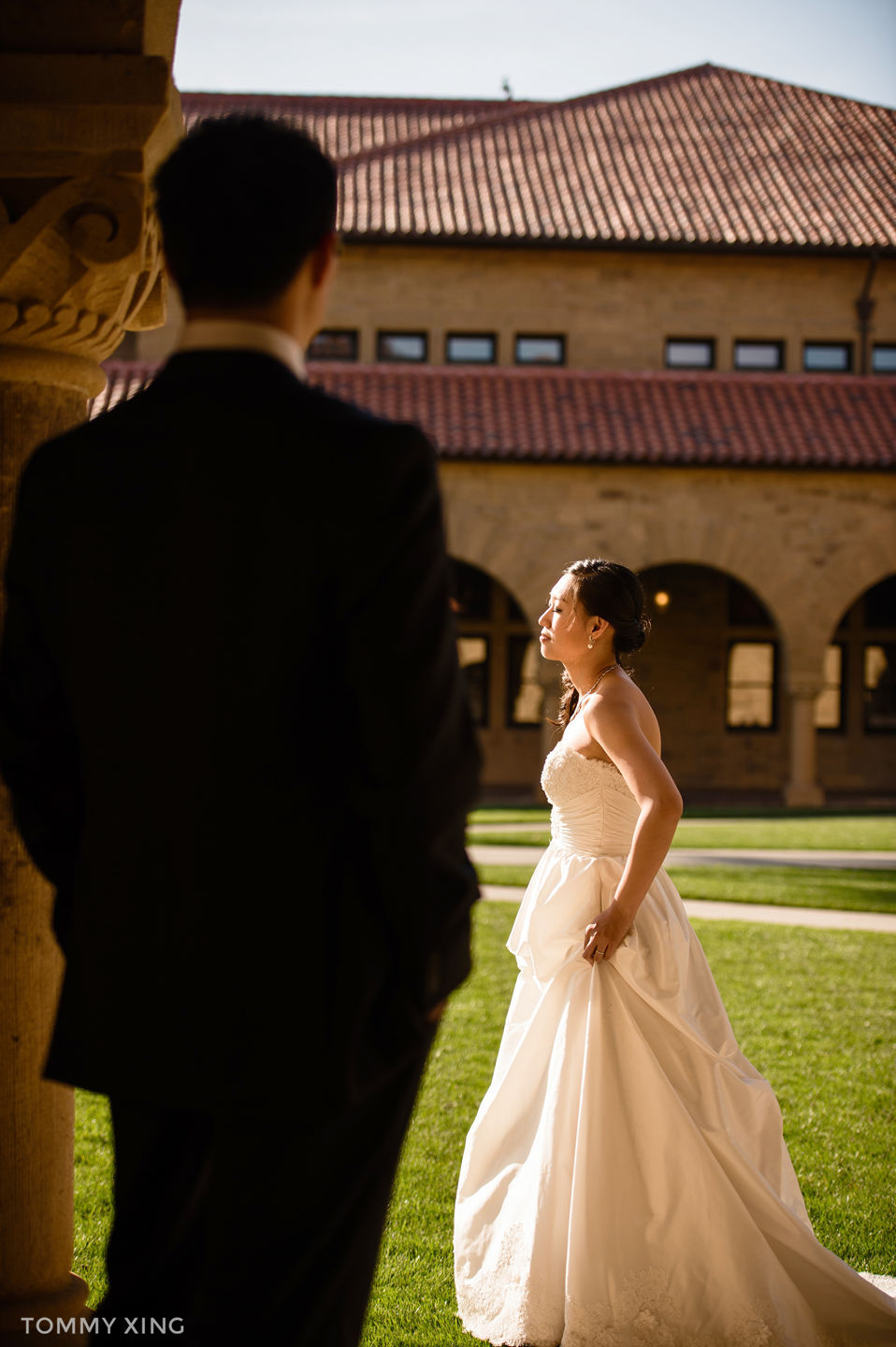 STANFORD MEMORIAL CHURCH WEDDING SAN FRANCISCO BAY AREA 斯坦福教堂婚礼 洛杉矶婚礼婚纱摄影师  Tommy Xing 70.jpg
