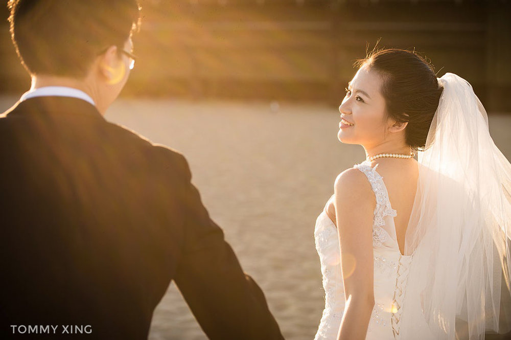 洛杉矶santa monica婚纱照 - Los Angeles pre wedding - Tommy Xing
