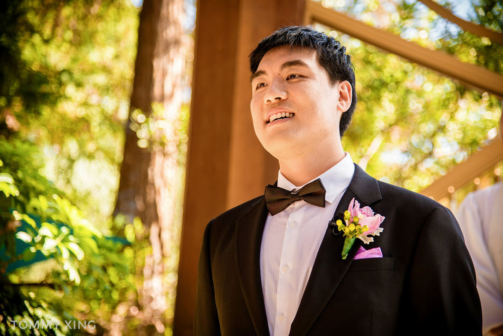 Wayfarers Chapel Wedding - Lin & Cheng - Los Angeles 洛杉矶玻璃教堂婚礼 by Tommy Xing Photography 029.JPG