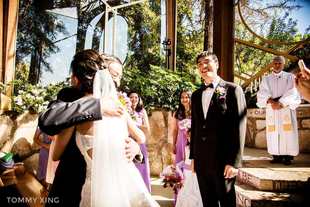Wayfarers Chapel Wedding - Lin & Cheng - Los Angeles 洛杉矶玻璃教堂婚礼 by Tommy Xing Photography 037.JPG