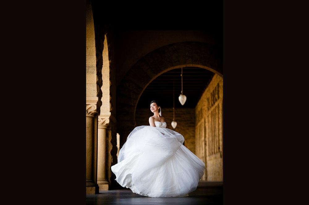 斯坦福大学拍婚纱照