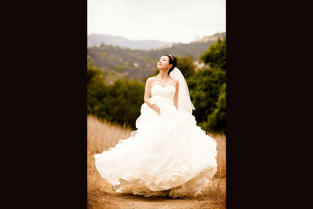 洛杉矶 topanga state park 婚纱照 pre-wedding