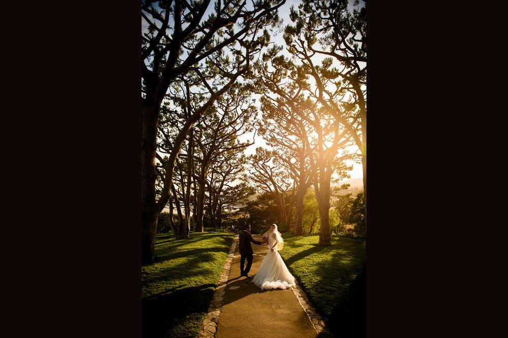 wayfarers chapel wedding 玻璃教堂婚礼