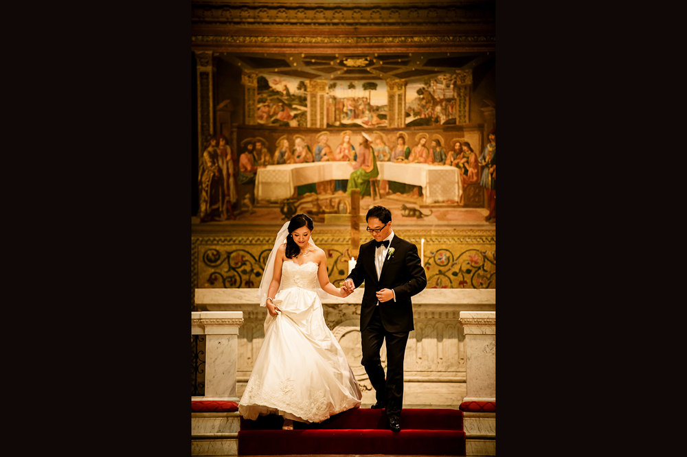 斯坦福教堂婚礼仪式 stanford memorial church wedding