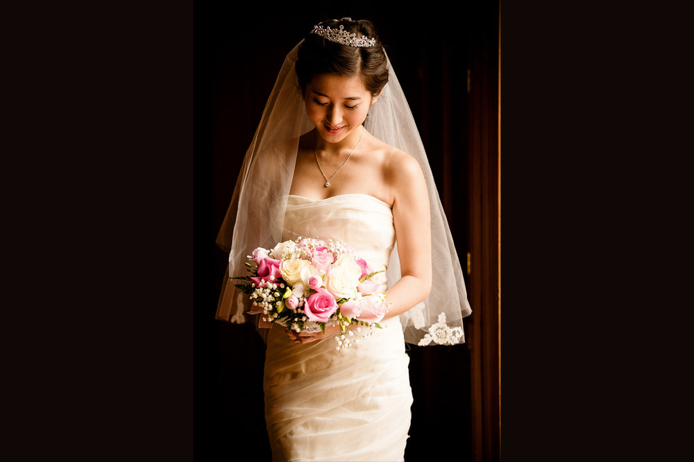 bride getting ready at Montalvo Arts Center Saratoga, CA 旧金山湾区婚礼跟拍
