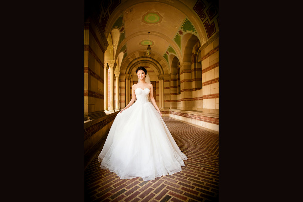 洛杉矶UCLA婚纱照 by Tommy Xing