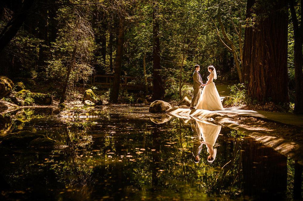 旧金山湾区婚纱照 sanborn county park