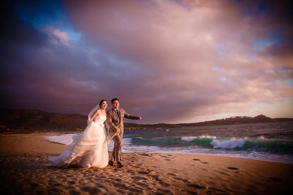 加州旧金山湾区carmel婚纱照