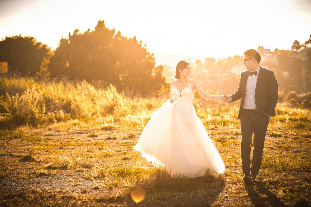 旧金山湾区婚纱照
