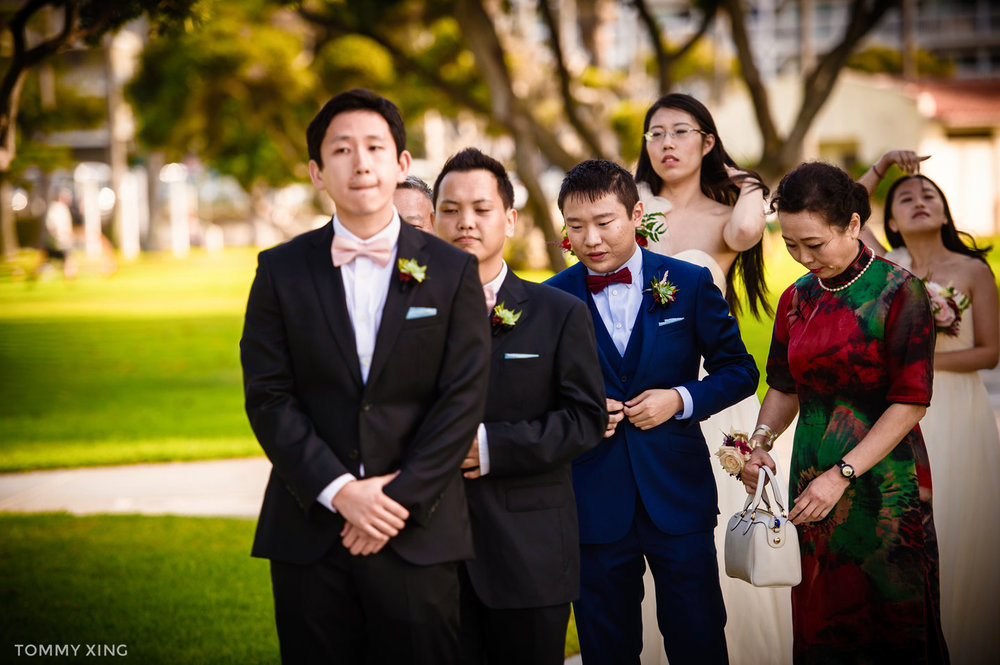 Di Liang & Ke Ding Redondo beach historic library wedding - 洛杉矶婚礼婚纱照摄影师 Tommy Xing Wedding Photography 085.jpg