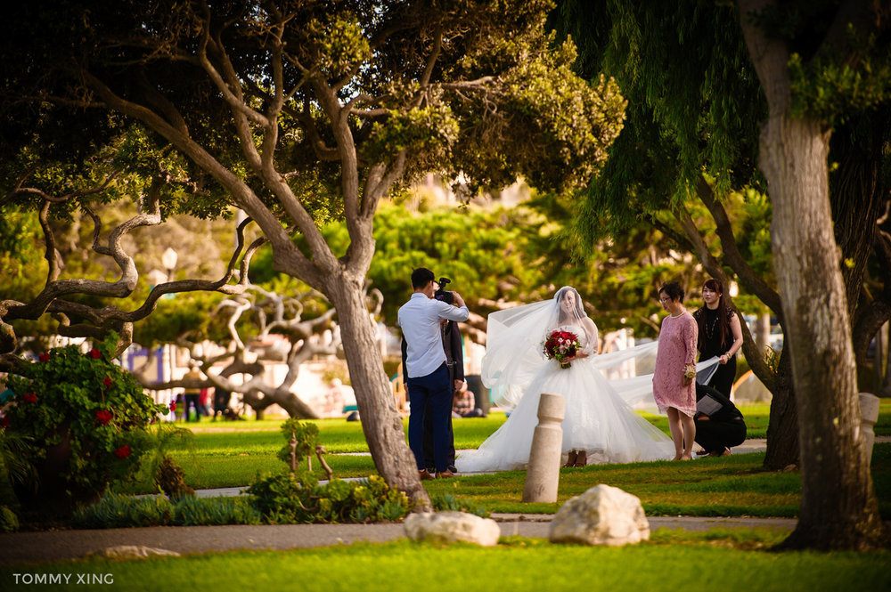 Di Liang & Ke Ding Redondo beach historic library wedding - 洛杉矶婚礼婚纱照摄影师 Tommy Xing Wedding Photography 095.jpg