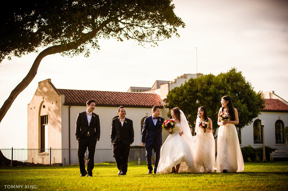 Di Liang & Ke Ding Redondo beach historic library wedding - 洛杉矶婚礼婚纱照摄影师 Tommy Xing Wedding Photography 134.jpg