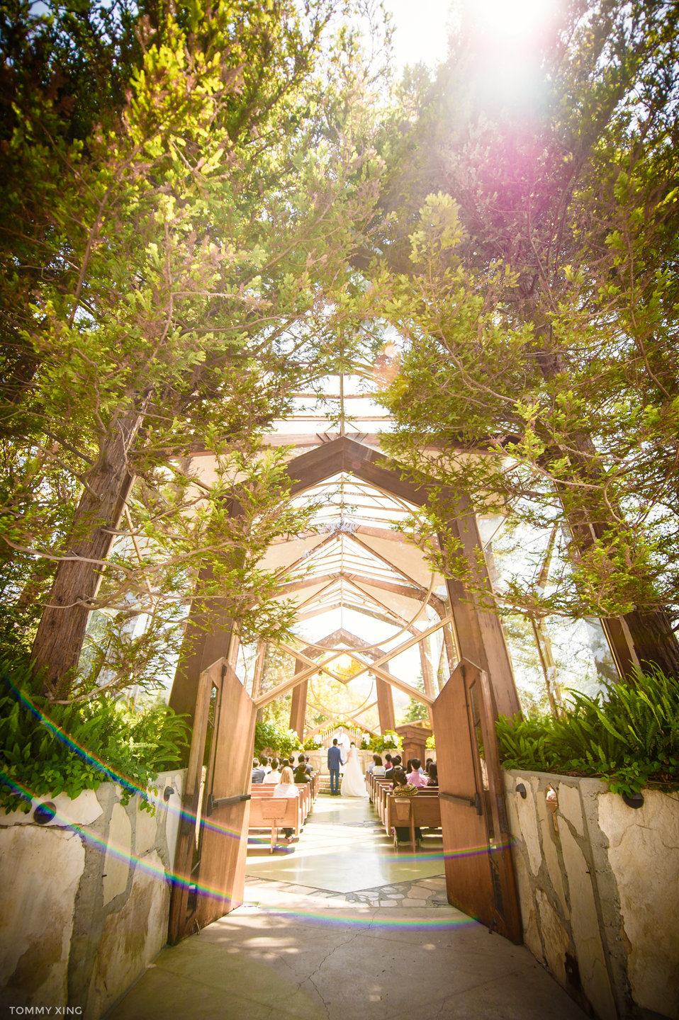 Wayfarers chapel Wedding Photography Ranho Palos Verdes Tommy Xing Photography 洛杉矶玻璃教堂婚礼婚纱照摄影师127.jpg