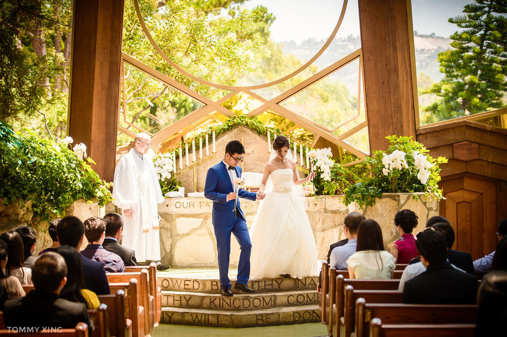 Wayfarers chapel Wedding Photography Ranho Palos Verdes Tommy Xing Photography 洛杉矶玻璃教堂婚礼婚纱照摄影师136.jpg