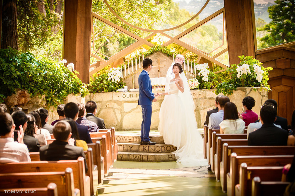Wayfarers chapel Wedding Photography Ranho Palos Verdes Tommy Xing Photography 洛杉矶玻璃教堂婚礼婚纱照摄影师150.jpg