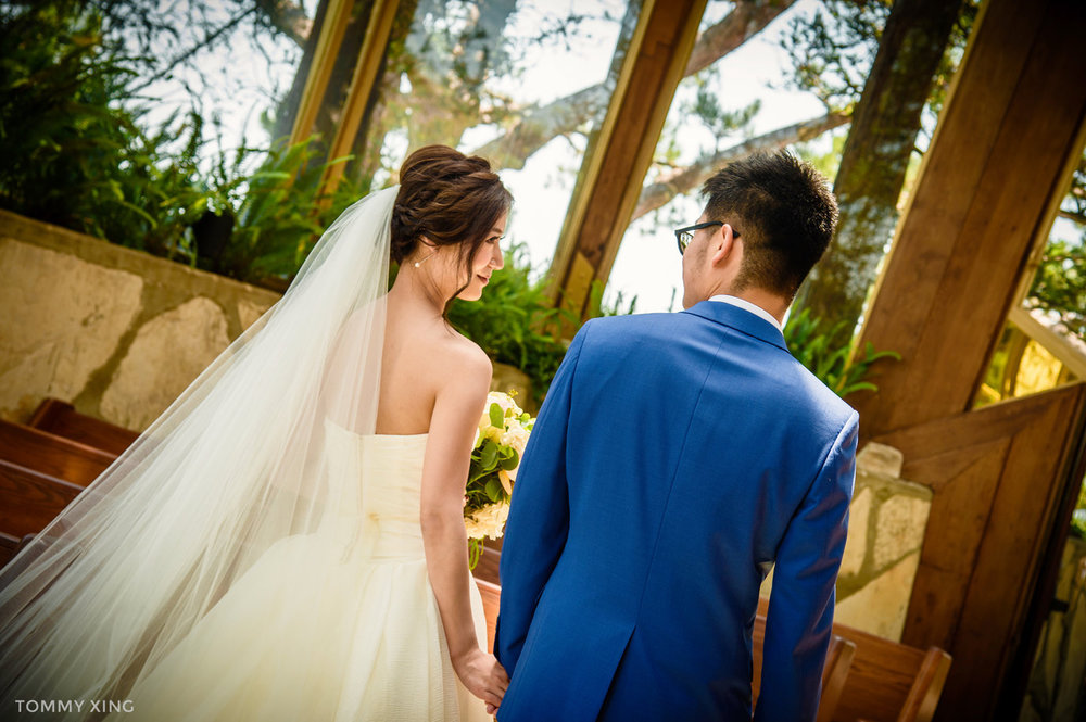 Wayfarers chapel Wedding Photography Ranho Palos Verdes Tommy Xing Photography 洛杉矶玻璃教堂婚礼婚纱照摄影师161.jpg