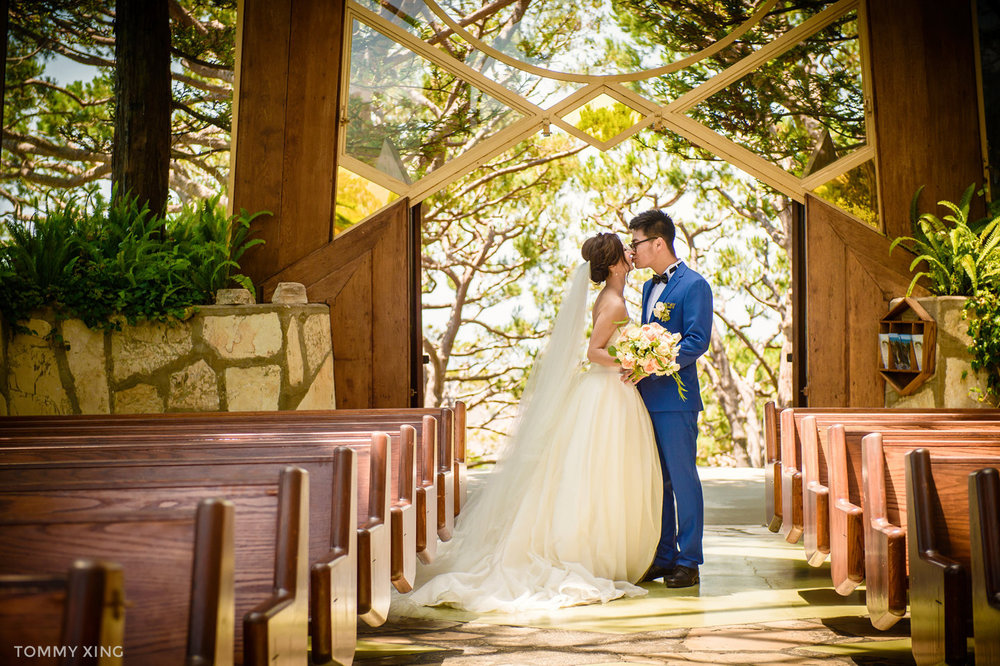 Wayfarers chapel Wedding Photography Ranho Palos Verdes Tommy Xing Photography 洛杉矶玻璃教堂婚礼婚纱照摄影师163.jpg