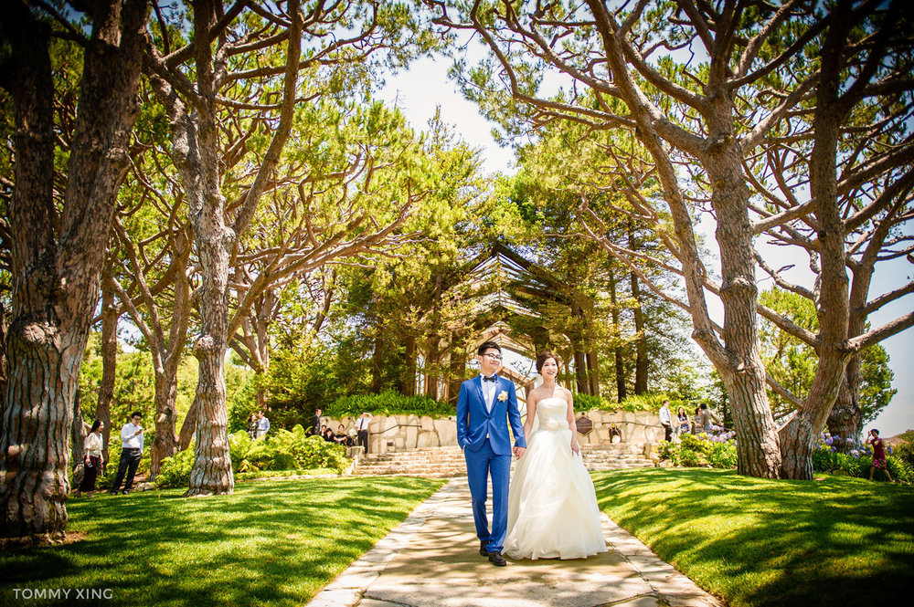 Wayfarers chapel Wedding Photography Ranho Palos Verdes Tommy Xing Photography 洛杉矶玻璃教堂婚礼婚纱照摄影师167.jpg