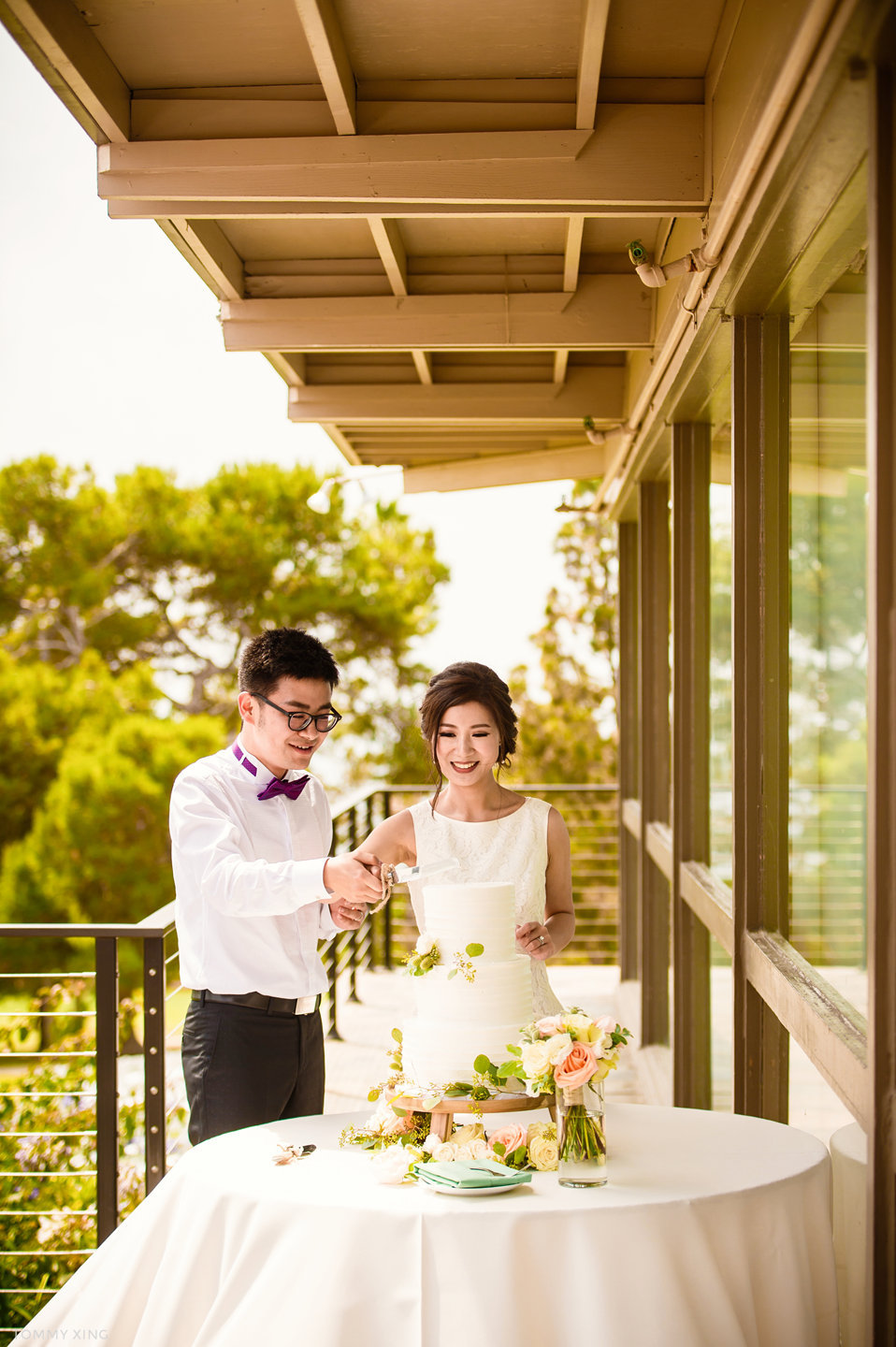Wayfarers chapel Wedding Photography Ranho Palos Verdes Tommy Xing Photography 洛杉矶玻璃教堂婚礼婚纱照摄影师288.jpg