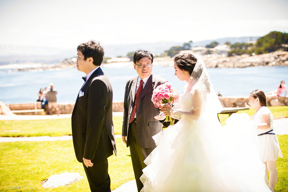 Lovers Point Park Wedding Monterey Wenping & Li  San Francisco Bay Area 旧金山湾区 洛杉矶婚礼婚纱照摄影师 Tommy Xing Photography 040.jpg