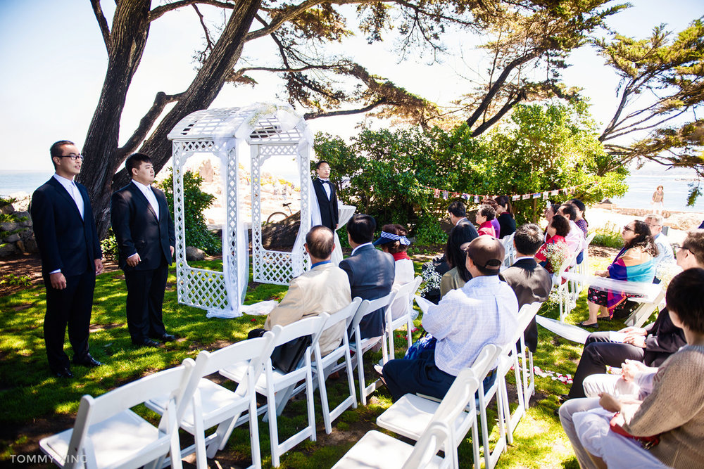 Lovers Point Park Wedding Monterey Wenping & Li  San Francisco Bay Area 旧金山湾区 洛杉矶婚礼婚纱照摄影师 Tommy Xing Photography 041.jpg