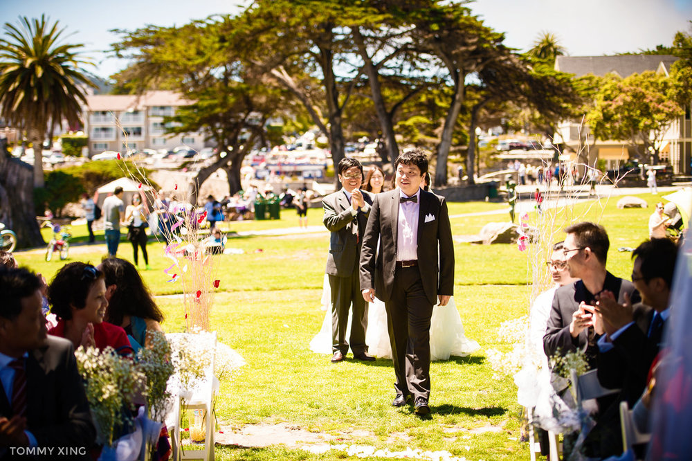 Lovers Point Park Wedding Monterey Wenping & Li  San Francisco Bay Area 旧金山湾区 洛杉矶婚礼婚纱照摄影师 Tommy Xing Photography 042.jpg