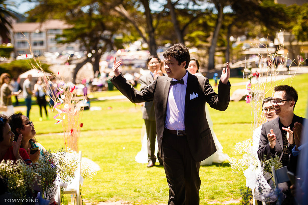 Lovers Point Park Wedding Monterey Wenping & Li  San Francisco Bay Area 旧金山湾区 洛杉矶婚礼婚纱照摄影师 Tommy Xing Photography 043.jpg