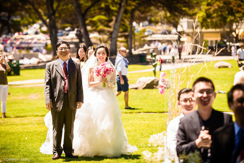 Lovers Point Park Wedding Monterey Wenping & Li  San Francisco Bay Area 旧金山湾区 洛杉矶婚礼婚纱照摄影师 Tommy Xing Photography 044.jpg