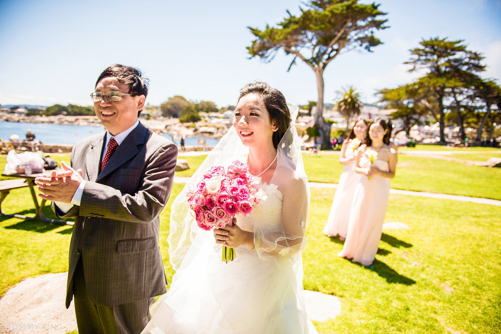 Lovers Point Park Wedding Monterey Wenping & Li  San Francisco Bay Area 旧金山湾区 洛杉矶婚礼婚纱照摄影师 Tommy Xing Photography 047.jpg