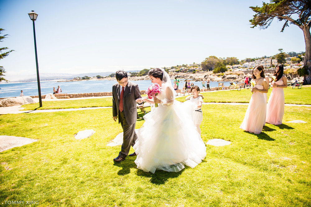 Lovers Point Park Wedding Monterey Wenping & Li  San Francisco Bay Area 旧金山湾区 洛杉矶婚礼婚纱照摄影师 Tommy Xing Photography 048.jpg