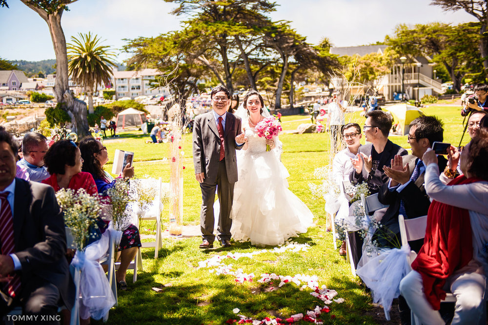 Lovers Point Park Wedding Monterey Wenping & Li  San Francisco Bay Area 旧金山湾区 洛杉矶婚礼婚纱照摄影师 Tommy Xing Photography 049.jpg
