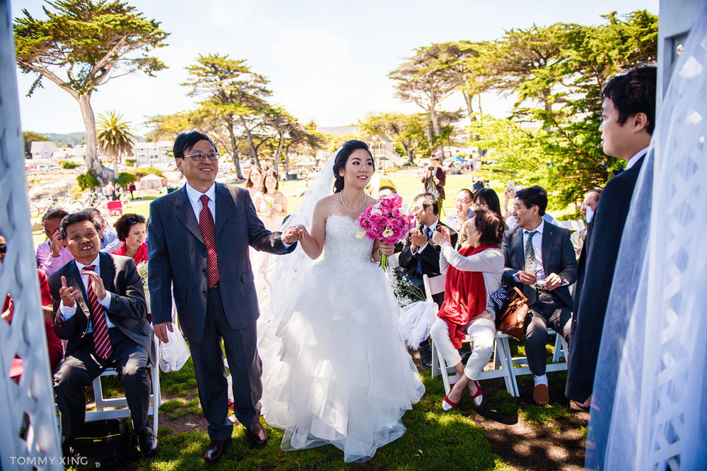 Lovers Point Park Wedding Monterey Wenping & Li  San Francisco Bay Area 旧金山湾区 洛杉矶婚礼婚纱照摄影师 Tommy Xing Photography 051.jpg