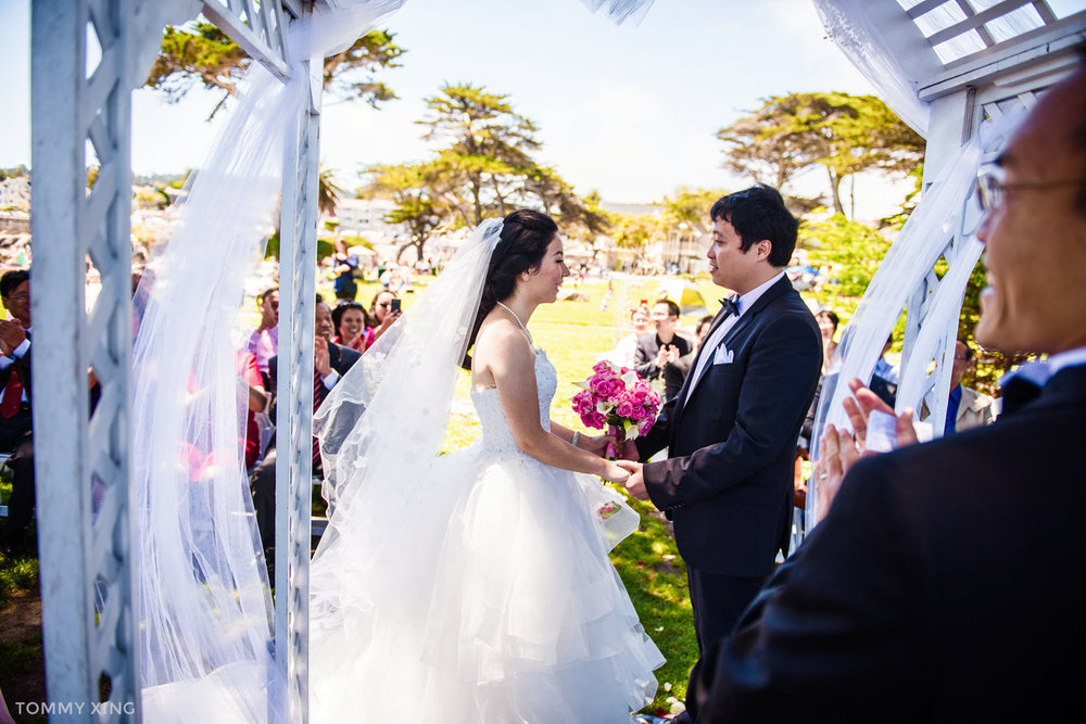 Lovers Point Park Wedding Monterey Wenping & Li  San Francisco Bay Area 旧金山湾区 洛杉矶婚礼婚纱照摄影师 Tommy Xing Photography 060.jpg