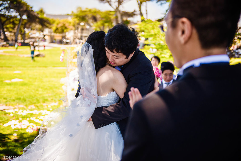 Lovers Point Park Wedding Monterey Wenping & Li  San Francisco Bay Area 旧金山湾区 洛杉矶婚礼婚纱照摄影师 Tommy Xing Photography 062.jpg