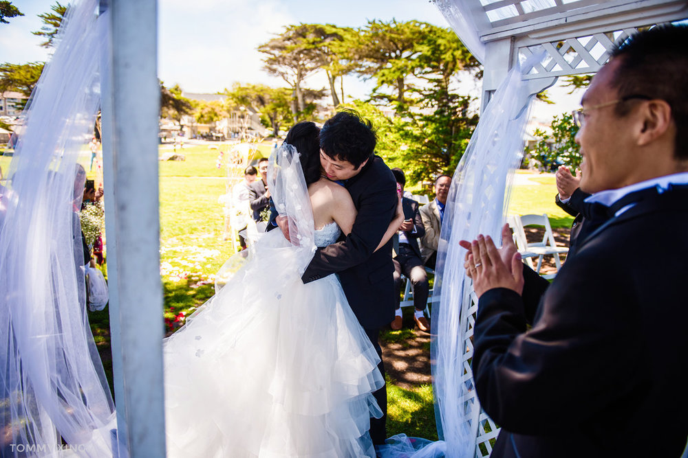 Lovers Point Park Wedding Monterey Wenping & Li  San Francisco Bay Area 旧金山湾区 洛杉矶婚礼婚纱照摄影师 Tommy Xing Photography 063.jpg