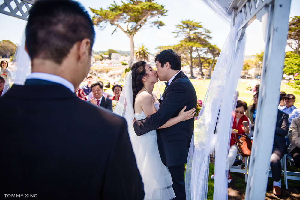 Lovers Point Park Wedding Monterey Wenping & Li  San Francisco Bay Area 旧金山湾区 洛杉矶婚礼婚纱照摄影师 Tommy Xing Photography 064.jpg