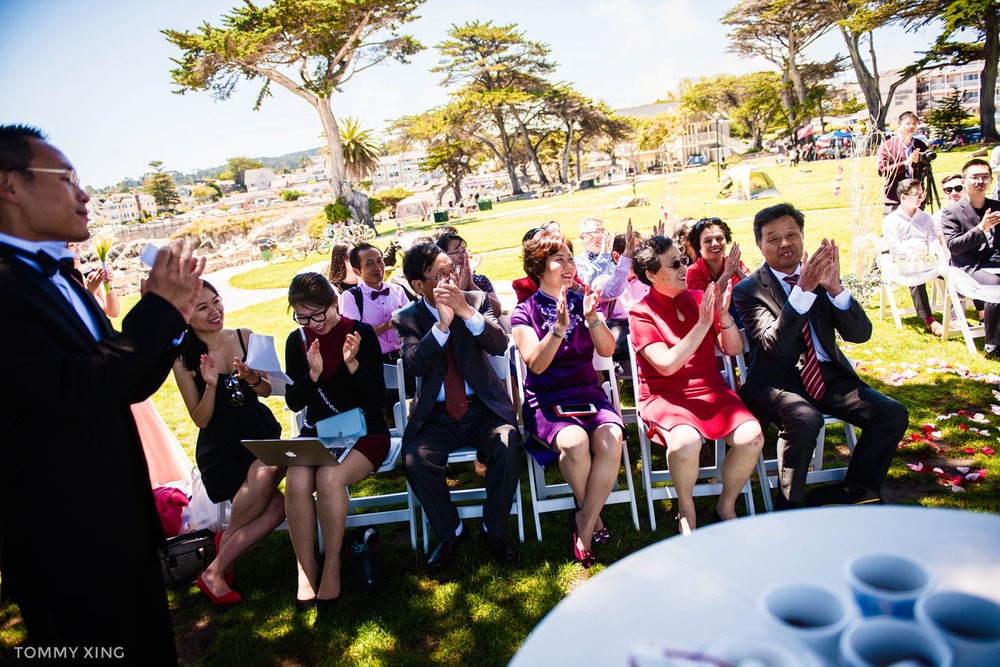 Lovers Point Park Wedding Monterey Wenping & Li  San Francisco Bay Area 旧金山湾区 洛杉矶婚礼婚纱照摄影师 Tommy Xing Photography 074.jpg