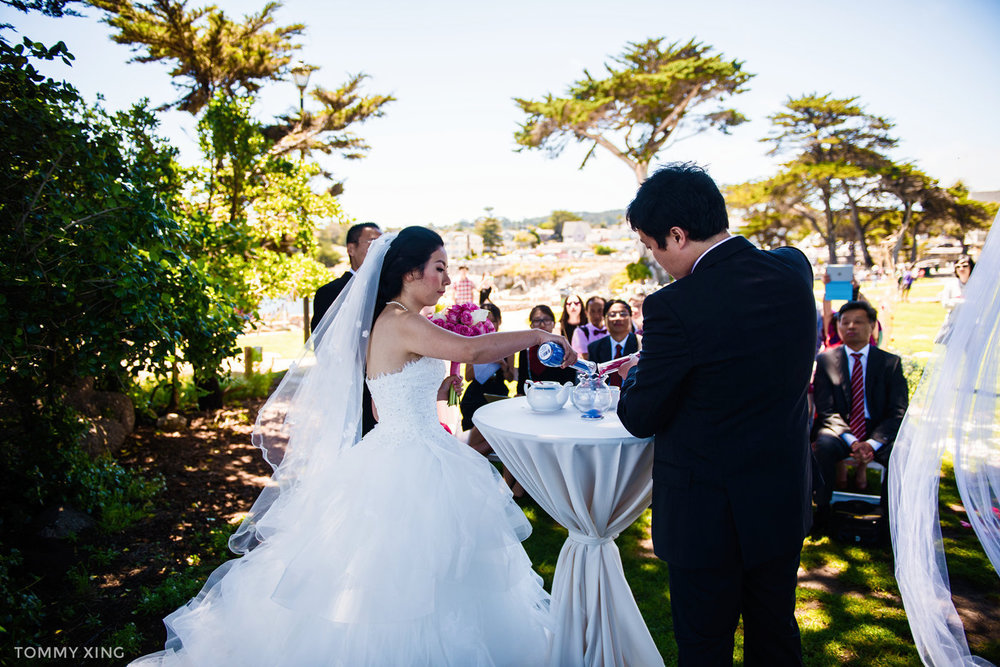 Lovers Point Park Wedding Monterey Wenping & Li  San Francisco Bay Area 旧金山湾区 洛杉矶婚礼婚纱照摄影师 Tommy Xing Photography 075.jpg