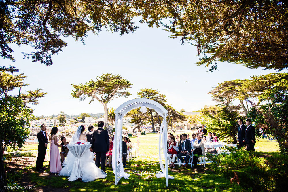 Lovers Point Park Wedding Monterey Wenping & Li  San Francisco Bay Area 旧金山湾区 洛杉矶婚礼婚纱照摄影师 Tommy Xing Photography 108.jpg