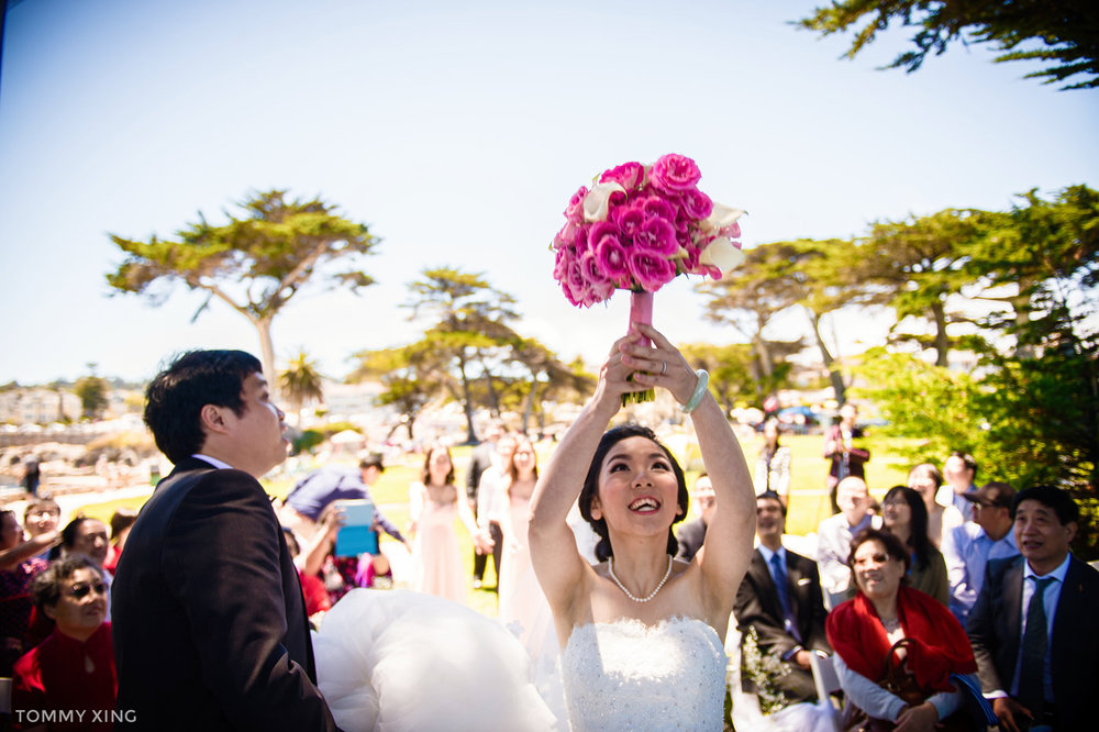 Lovers Point Park Wedding Monterey Wenping & Li  San Francisco Bay Area 旧金山湾区 洛杉矶婚礼婚纱照摄影师 Tommy Xing Photography 110.jpg