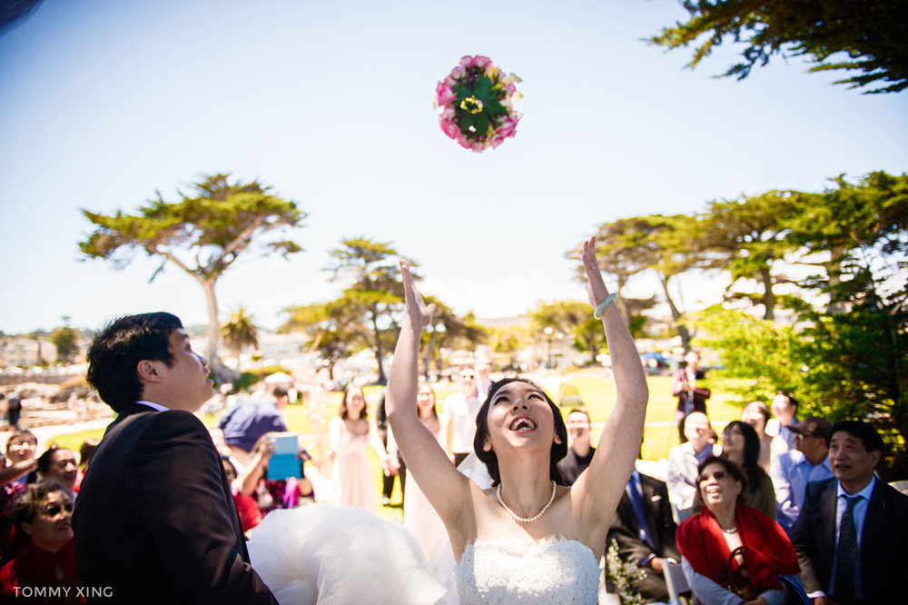 Lovers Point Park Wedding Monterey Wenping & Li  San Francisco Bay Area 旧金山湾区 洛杉矶婚礼婚纱照摄影师 Tommy Xing Photography 111.jpg