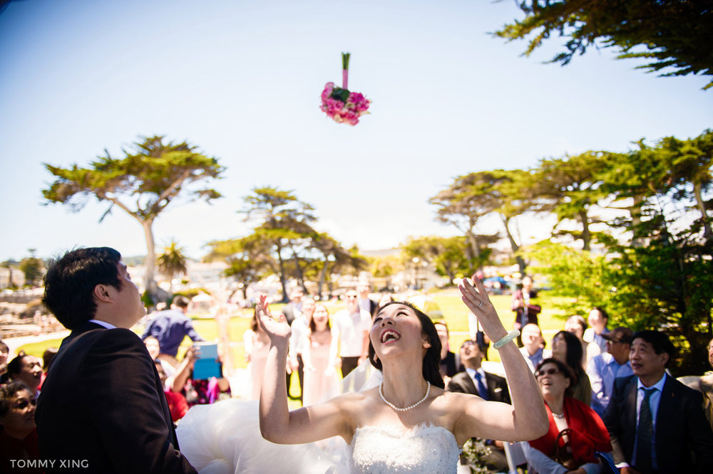 Lovers Point Park Wedding Monterey Wenping & Li  San Francisco Bay Area 旧金山湾区 洛杉矶婚礼婚纱照摄影师 Tommy Xing Photography 112.jpg