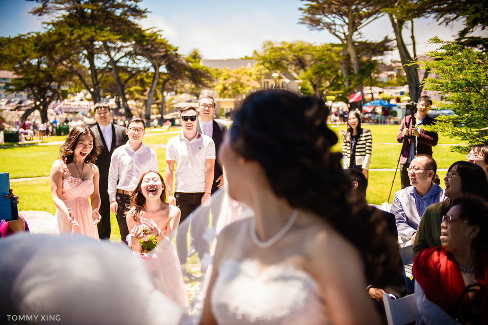 Lovers Point Park Wedding Monterey Wenping & Li  San Francisco Bay Area 旧金山湾区 洛杉矶婚礼婚纱照摄影师 Tommy Xing Photography 113.jpg