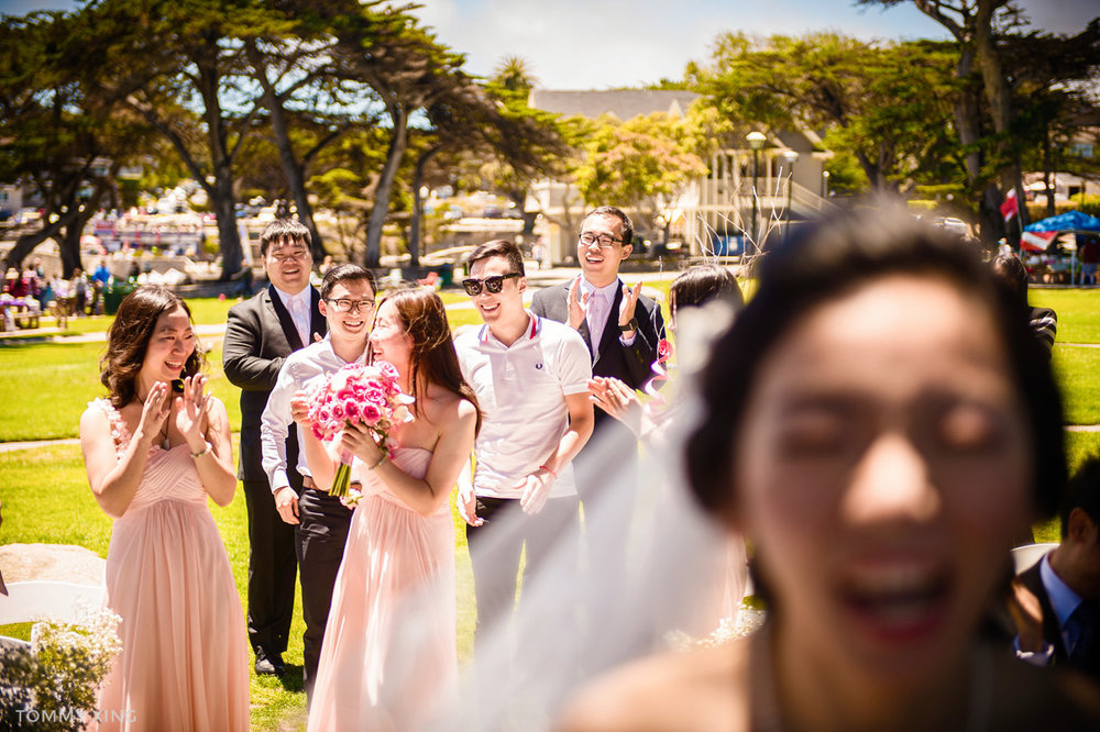 Lovers Point Park Wedding Monterey Wenping & Li  San Francisco Bay Area 旧金山湾区 洛杉矶婚礼婚纱照摄影师 Tommy Xing Photography 114.jpg