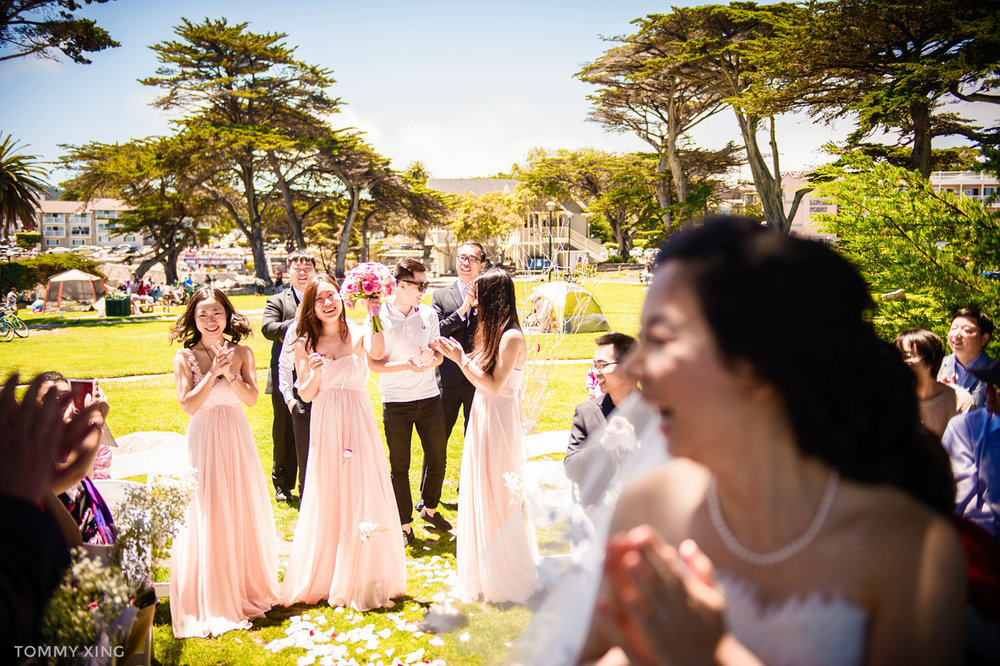 Lovers Point Park Wedding Monterey Wenping & Li  San Francisco Bay Area 旧金山湾区 洛杉矶婚礼婚纱照摄影师 Tommy Xing Photography 115.jpg