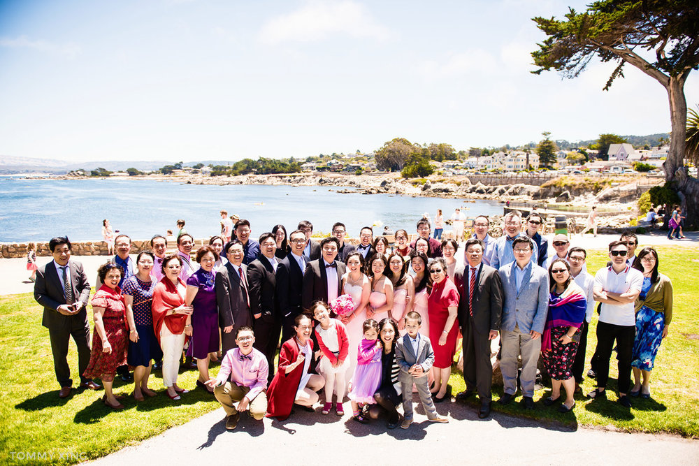 Lovers Point Park Wedding Monterey Wenping & Li  San Francisco Bay Area 旧金山湾区 洛杉矶婚礼婚纱照摄影师 Tommy Xing Photography 116.jpg