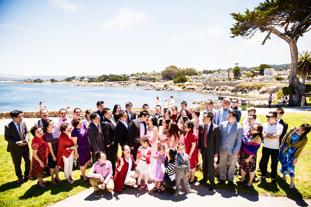 Lovers Point Park Wedding Monterey Wenping & Li  San Francisco Bay Area 旧金山湾区 洛杉矶婚礼婚纱照摄影师 Tommy Xing Photography 117.jpg