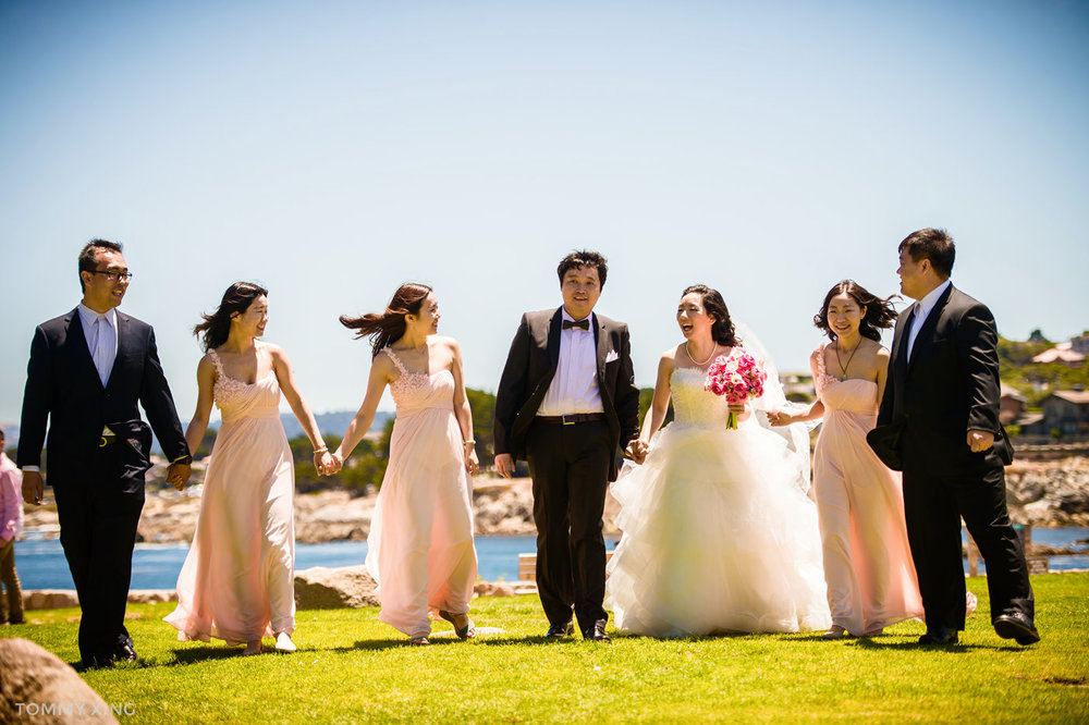 Lovers Point Park Wedding Monterey Wenping & Li  San Francisco Bay Area 旧金山湾区 洛杉矶婚礼婚纱照摄影师 Tommy Xing Photography 118.jpg